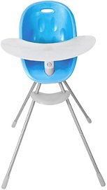 Phil & Teds BLUE Poppy Child Baby High Chair