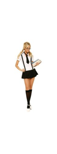 Business School Girl Costume - Adult Costume