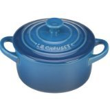 Le Creuset Stoneware Petite Round Casserole, 8-Ounce, Marseille (Small Round Oven Rack compare prices)