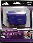 Vivitar DVR 498 Digital Video Camcorder w/Bonus 8GB SD Card