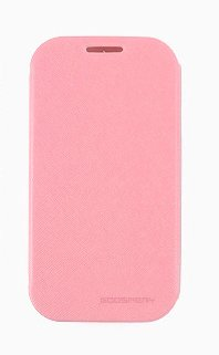 Grand2 Case, Mercury Fancy Flip Style Diary Case For Samsung Galaxy Grand2 (7 Colors) Wallet Style (At&T, Verizon, Sprint, T-Mobile) - Retail Packaging (Pink)