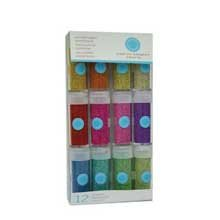 Martha Stewart Crafts Metallic Microbeads, 12-Pack