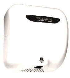 Sloan EHD-503 Xlerator Model Ultra-fast, Sensor Activated Hand Dryer for surface, White