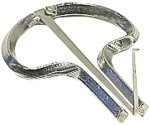 Harpe Jew\'s n ° 16 mm/95/plaqué Nickel