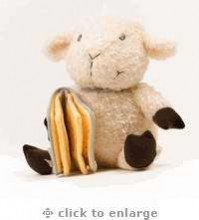 Toy-Plush-Lamb w/Removable Blessings Book - 1