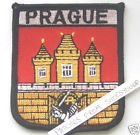 Prague Czech Republic Flag Embroidered Patch Badge
