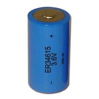 Expocell D Size Ultra High Energy Lithium Battery-3.6V And 19.0 Mah