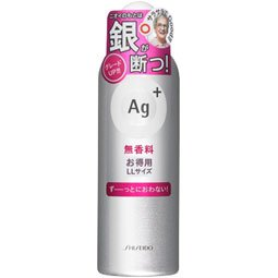 資生堂 AG+ パウダースプレー e (無香料) 180g
