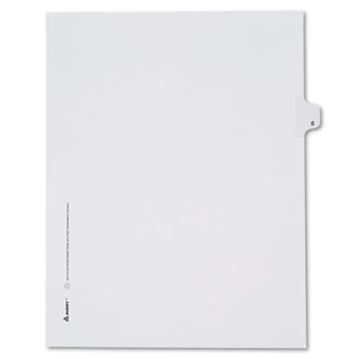allstate-style-legal-side-tab-divider-title-s-letter-white-25-pack-sold-as-1-package
