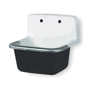 Wall Hung Mop Sink : Service Sink, Wall Hung, Cast Iron - Wall Mounted Sinks - Amazon.com
