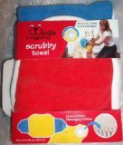 Wags & Wiggles scrubby towel multi color