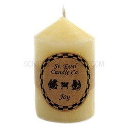 St Eval Scented Church Candle - 6.25cm x 3.75cm (Joy)