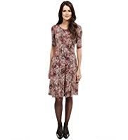 M&S Collection Scatter Print Skater Dress