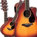 Yamaha FGX720SCA BS Acoustic Electric Guitar (Brown Sunburst)