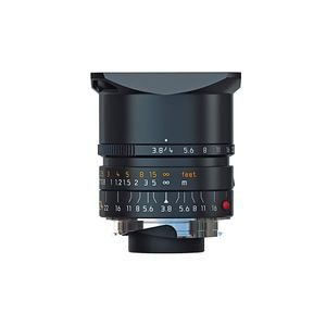 Leica Wide Angle 24Mm F/3.8 Elmar M Aspherical Manual Focus Lens - Black