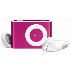 (Pink) 4GB 4 GB MINI CLIP ON MP3 PLAYER. (BULK PACKAGE)