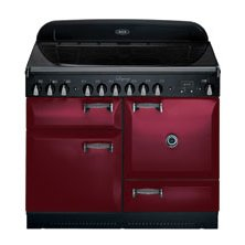 Red AGA Stove