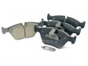 BMW e39 (97-03 6cyl) Brake Pad Set Front CERAMIC Akebono