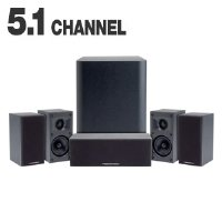 Cerwin-Vega CMX5.1 6-Speaker Surround System (Each, Black)