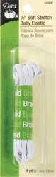 Bulk Buy: Dritz Soft Stretch Baby Elastic 1/8