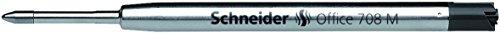 Schneider Recharge pour stylo à bille Schneider BÜRO 708/Noir