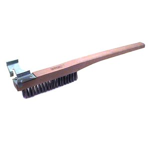 BRUSH BROILER FLAT BAR, EA, 13-0860 ZOIA COMPANY CLEANING BRUSHES