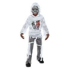 CHILD LIGHT-UP MUMMY COSTUME TOP BOYS SMALL 4-6