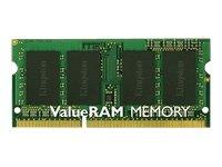 Kingston ValueRAM 4GB 1333MHz DDR3 Non-ECC CL9 SODIMM Notebook Memory