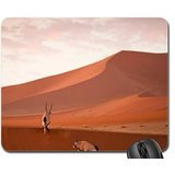 african eland in a desert Mouse Pad, Mousepad (Deer Mouse Pad)