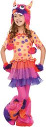 Fun World Fuzzy Fifi Girl'S Costume Small (4-6) front-962152