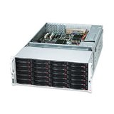 Supermicro CSE-847E2-R1400LPB Redundant 1400W 4U Rackmount Server Chassis (Black)