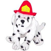 TY Beanie Baby - FIREPLUG the Dog (BBOM October 2004)