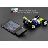 Today iPhone/iPad/iPod Touch Controlled High Speed RC Stunt Open Wheel Car - High Tech Electronics New Gadget