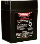 Parker Mc Crory Mfg 901 Battery For Parmak Solar Fence Charger, 6-Volt - Quantity 1