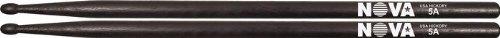 Vic Firth Drumsticks VT-UBEG-ED1U Nova Hickory Drumsticks Black 5A