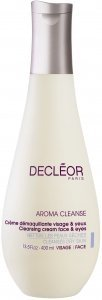 Decleor Paris Aroma Cleanse Cleansing Milk Face & Eyes(Cleanses All Skin Types)250ml