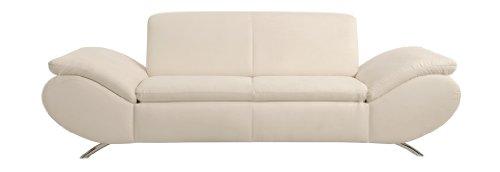 Max Winzer 2870-3000-2065002 2,5 Sitzer Sofa Madita, Mikrovelour, beige