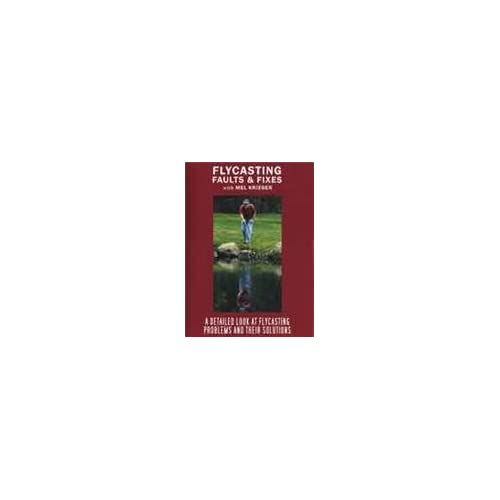 Flycasting Faults and Fixes With Mel Krieger (Fly Fishing Tutorial DVD) [CD-R...