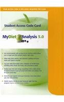 MyDietAnalysis Student Access Code Card
