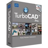 Turbocad Pro 16 Standard Edition - Professional 2D 3D Cad Design & Drafting Software (Supports Windows 7/ Vista / 2000 / Xp)