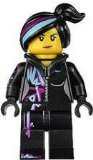 LEGO The Movie Minifigure: Wyldstyle with Hoodie Down - 1