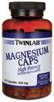 Twinlab Magnesium 400Mg Capsules, 240 Count