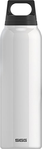 Sigg Classic Thermo 0.5-Liter Water Bottle With Tea Filter, White front-736853