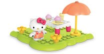 Mega Bloks Hello Kitty Happy Picnic assorted colors (15 pcs) - 1