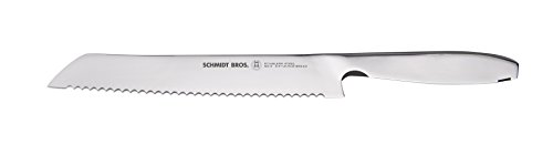 """Hudson Home Schmidt Brothers Cutlery, SSCBR09, #9 Steel Cut 8.5"""" Bread Knife,Stainless Steel"""