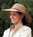 50 Spf Sun Protection Straw Hat by BagnBasket