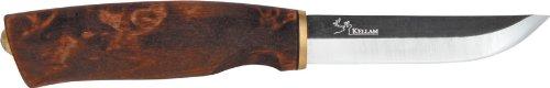 Kellam Knives KPR4 Carbon Steel Puukko Fixed Blade Knife with Birch Handle