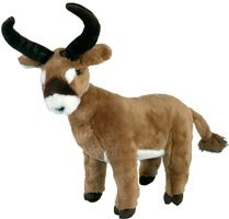 "14"" Antelope Plush Stuffed Animal Toy"