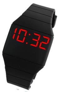 Montre LED Silicone Noir WILD TOUCH 7