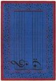 Joy Carpets Kid Essentials Music & Special Needs Fully Staffed Rug, Blue, 3\'10\